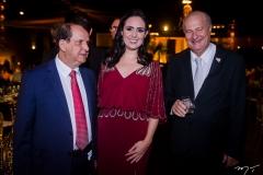Francisco Maia, Carine Câmara e Tadeu Peron