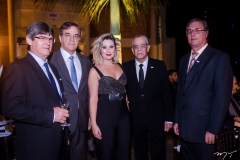Itaci Mayer, Nadim Donato, Daniele Rocha, Carlos Nascimento e Humberto Gondim