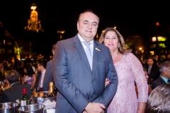 José Venceslau e Márcia Esteves