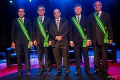 Luiz Fernando Bittencourt, Cid Alves, José Roberto Tadros, Maurício Filizola e Sérgio Braga