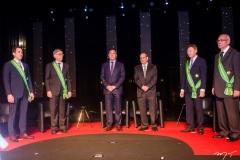 Luiz Fernando Bittencourt, Cid Alves, Luiz Gastão Bittencourt, José Roberto Tadros, Maurício Filizola e Sérgio Braga