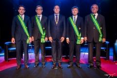 Luiz Fernando Bittencourt, Cid Alves, Luiz Gastão Bittencourt, Maurício Filizola e Sérgio Braga
