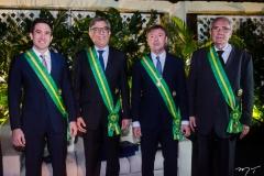 Luiz Fernando Bittencourt, Cid Alves, Maurício Filizola e Sérgio Braga