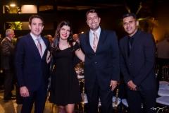 Luiz Fernando Bittencourt, Maria Vitoria, Goni Arruda e Manuel Tobias