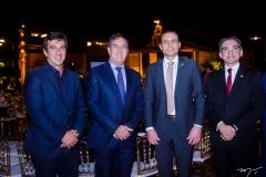 Vinícius Farah, Luiz Gastão Bittencourt, Eduardo Diogo e Marcelo Queiroz