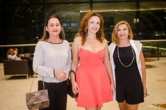 Airles Lino, Izabel Aguiar e Lúcia Braga