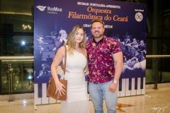 Erika Mota e Marcelo Norões