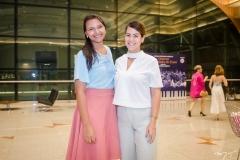 Jardeline Santos e Juliana de Fátima
