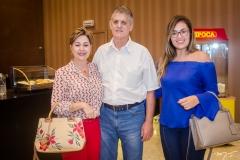 Larissa Rolim, Ricardo Bízio e Renata Abreu