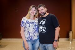 Luciana Diniz e Ricardo Goiana