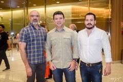 Manu Gomes, Alan Carvalho e Miguel Dias
