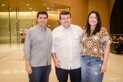 Marcelo Peixoto, Ricardo Borges e Lara Mendes