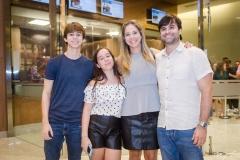 Pedro, Beatriz, Flávio e Caio Nogueira