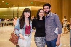 Raquel Carvalho, Angela e Paulo Araújo