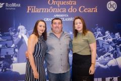Samara, Toni e Diandra Tauil