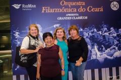 Zuleica Catunda, Lourdes Batista, Fátima e Maria Luiza Catunda