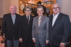 Amarílio Cavalcante, José Augusto Bezerra, Pádua Lopes e Alcimor Rocha