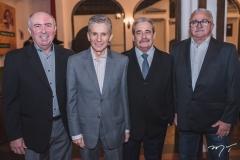 Amarílio Cavalcante, Pádua Lopes, Augusto Viana e Alcimor Rocha