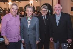 Paulo César Norões, Pádua Lopes, José Augusto Bezerra e Amarílio Cavalcante