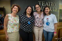 Márcia Frezza, Janaina Queiroz, Luciana Queiroz e Letícia Bessa