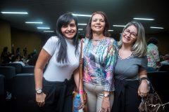 Paula Saraiva, Denigela Marrtins e Aruricélia Tavares