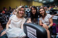 Renata Rocha, Carolina Quixadá e Marselle Fernandes