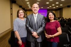 Aurinele Freire, Marcos Braun e Rosa Holanda