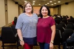 Aurinele Freire e Rosa Holanda