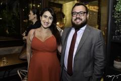 Larissa Freitas e Marcos Sousa