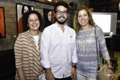 Liana Feingold, Rafael Fujita e Ticiana Rolim Queiroz