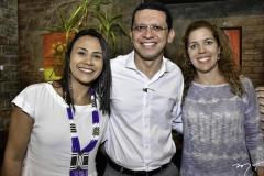 Natalia Martins, Renato Lima e Ticiana Rolim Queiroz