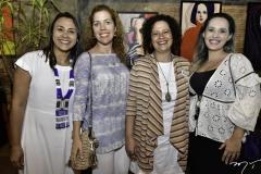 Natalia Martins, Ticiana Rolim Queiroz, Liana Feingold e Priscilla Veras