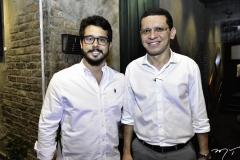 Rafael Fujita e Renato Lima
