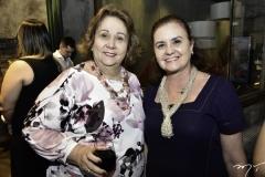 Suzanne Vasconcelos e Verônica Barreira