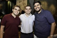 Tomaz Marques, Lucas Mourão e Fred Nobre