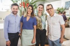 Adriano Barbosa, Fabiola Molteni, Sadriele Ibiapina e Samuel Bizeli