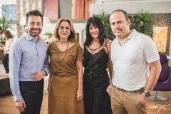 Adriano Barbosa, Sofia Linhares, Rosalinda Pinheiro e Roberto Pamplona