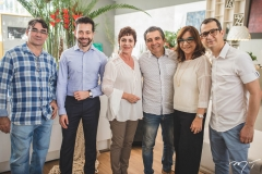 Antonio Rocha, Adriano Barbosa, Lilia Quinderé, Roberto Dias, Lúcia Wolff e Samuel Bizeli