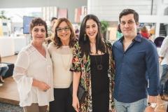 Lilia Quinderé, Lúcia Wolff, Bia Sampaio e Bruno Woody