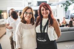 Lúcia Wolff e Fernanda Melo