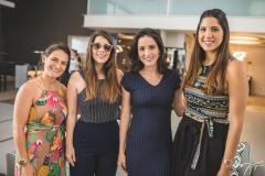 Luciana de Paula, Erilan Girão, Bruna Pontes e Lara Pouchain