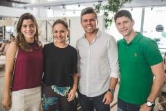 Paula Campos, Claryanne Aguiar, Marco Pollo e Almir Campos