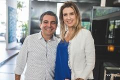 Roberto Dias e Susana Fiuza