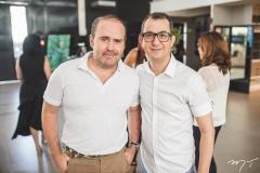 Roberto Pamplona e Samuel Bizeli