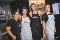 Rose Gomes, Monique Santiago, Ana Félix e Lucia Lobo
