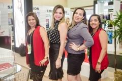 Adriana Alves, Deliane Lima, Taiana Menezes e Janaina Sousa