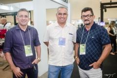 Edson Batista, Antônio Lima e Gilberto Pereira