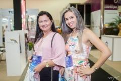 Fátima Freitas e Milena Silva