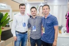 Jonas Dias, Adriano Cunha e Eudes Colares