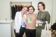 Larissa Teixeira, Sávio Ewan e Lorena Delfino